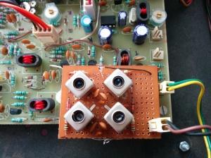 Rx input filters 20/40